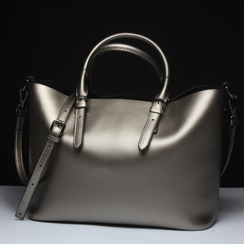 2018 Luxury 100% Genuine Leather Women Bag Brand Designer Shoulder Bag Cowhide Real Leather Top-Handle Bags Fashion handbags цена
