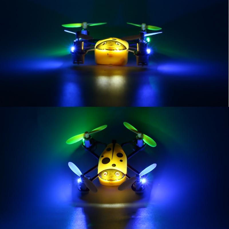 Cheer X1 Populyar Mini Uçan Uçan Ladybird RC Quadcopter 2.4G 4CH - Uzaqdan idarə olunan oyuncaqlar - Fotoqrafiya 4