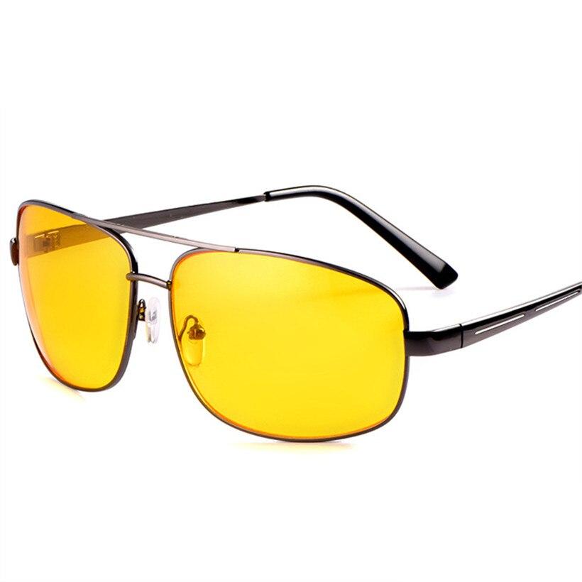 Glasses Goggles Nightvision Anti-Glare Driving-Driver Men For Square Women