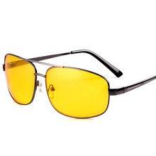 Очки ночного видения, очки для мужчин и женщин, квадратные Ночные очки для вождения, водительские очки ночного видения, антибликовые очки