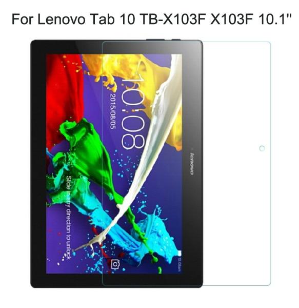 Für Lenovo Tab 10 Tb-x103f X103f 10,1 9 H Echt Gehärtetes Glas Tablet Film Klaren Bildschirm Schützen Abdeckung Schutz Feine Verarbeitung Tablet-display-schutzfolien Computer & Büro