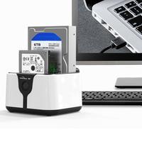 Новый Blueendless HD05 2 Bay USB 3,0 для SATA HDD SSD док станции с Функция клонирования