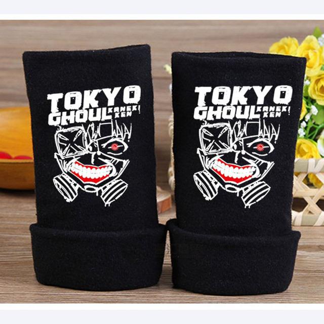 Anime Tokyo Ghoul Black Gloves
