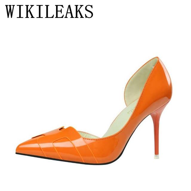 8c555c2ba1c816 Chaussures design femme marque de luxe rouge talons hauts bout pointu  chaussures de mariage sexy escarpins