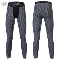 Mens PRO Compression Pants Sporting Trousers MMA High Elastic Quick Dry Tights Long Joggers Skinny Gym Fitness Running Leggings