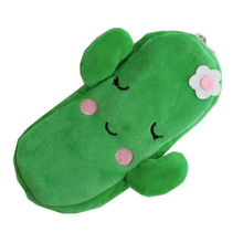 M301 Coin Purses Fruits Series Watermelon Strawberry Cactus Plush Zero Wallet Women Student Gift Wholesale(China)