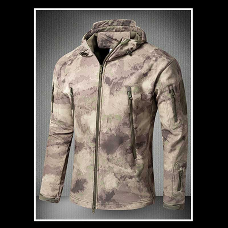 Military-Jacket Softshell Tactical-Wear Hunting Army Hiking Waterproof Outdoor Sports