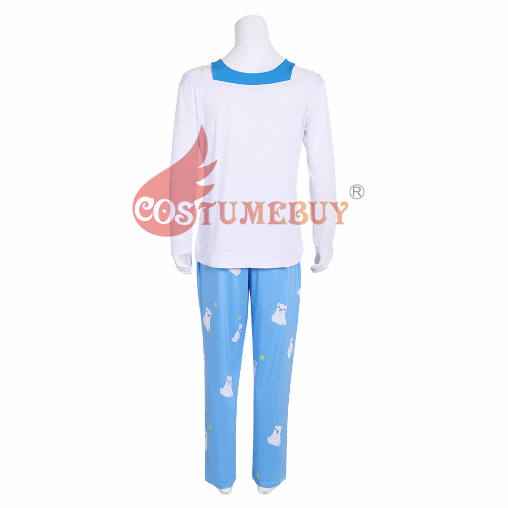 OW CG Mei Rise and Shine Polar Bear Pajamas Pants Summer Games Cosplay Costume