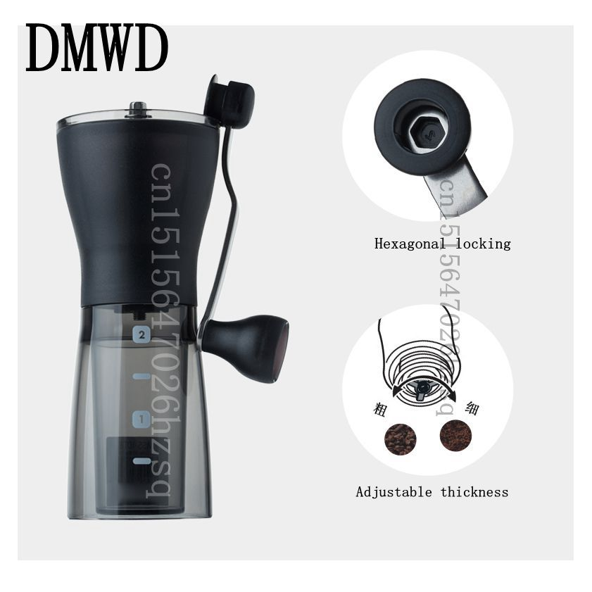 DMWD household manual Coffee Grinders Washable Ceramic grinding core hand grinding machine portablev ботинки grinders stag киев