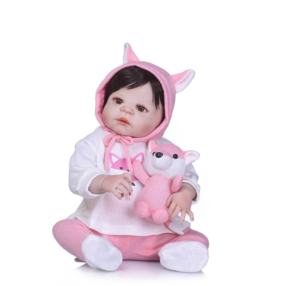 NPK reborn baby doll princess girl dolls full body soft silicone babies girls lifelike real born dolls bebe real reborn bonecas цена