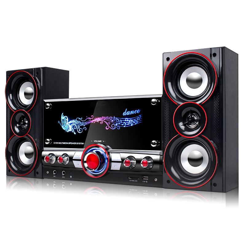 KINCO Home Party Wireless HIFI System Karaoke Bluetooth Devices 3D Surround Sound Music Center System for Relaxing Yourself santos martinez mastering system center configuration manager