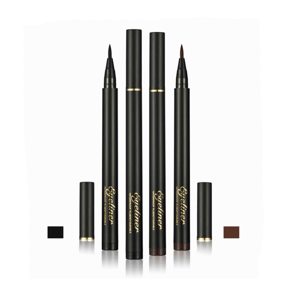 Black Brown Waterproof Liquid Eyeliner Pencil Long lasing ...