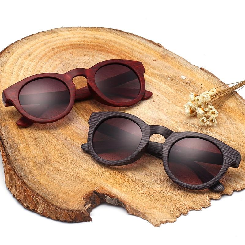 Marke Designer Runde Spiegel Sonnenbrille Männer und Frauen Oculos ...
