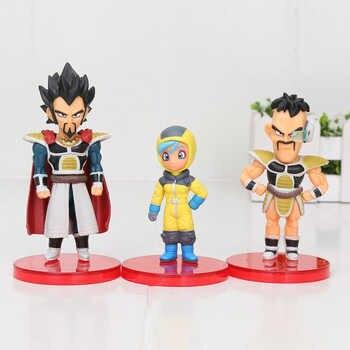 12pcs/set Dragon Ball Z figure Super Saiyan Goku Broly Vegeta Freeza broli Piccolo Raditz figure model DBZ Dragon ball toy