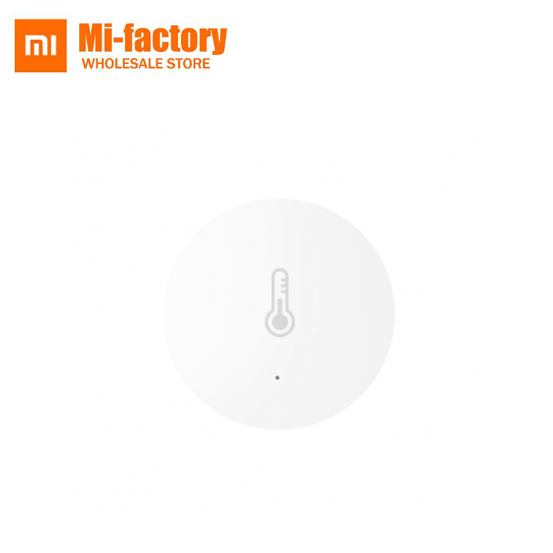 Galleria fotografica Original <font><b>Xiaomi</b></font> <font><b>Mi</b></font> Smart Temperature Humidity Sensor Put baby office Home Work Remote With reAndroid IOS APP