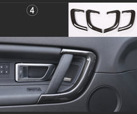 4pcs ABS Chrome Car Inner Door Handle Trim Replacement Parts For Land Rover Discovery Sport 2015 2017 Auto Accessories