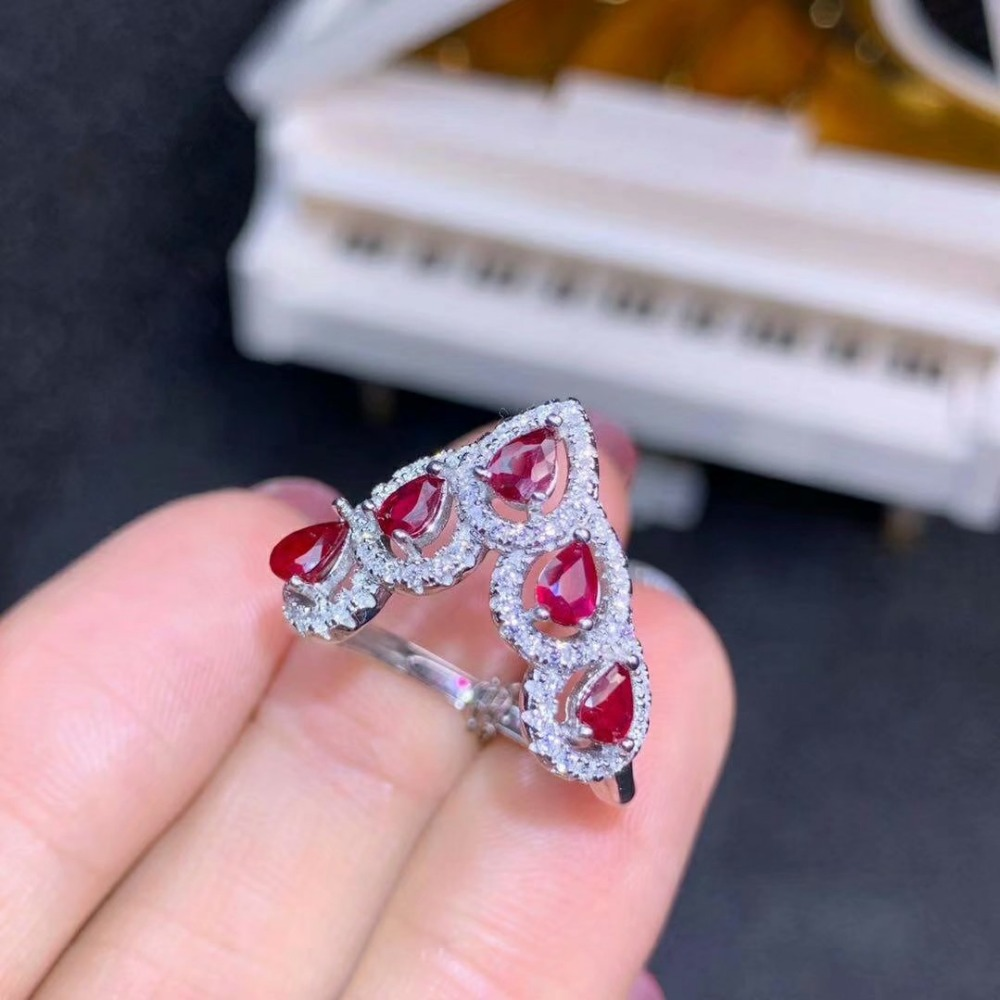 shilovem 925 silver sterling real Natural Emerald ruby Rings fine Jewelry party trendy open ring new 3*4mm dj03041agmlagh shilovem 925 silver sterling real Natural Emerald ruby Rings fine Jewelry party trendy open ring new 3*4mm dj03041agmlagh