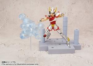 "Image 5 - ""Saint Seiya"" Original BANDAI Tamashii Nations D.D.PANORAMATION / DDP Action Figure    PEGASUS SEIYA   Pegasus Meteor Punches"