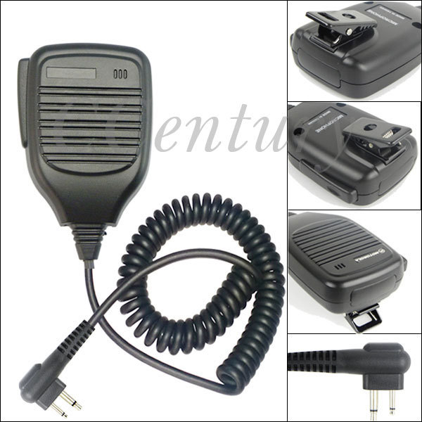 imágenes para Altavoz mic micrófono para motorola portátil de radio cb walkie talkie gp68 gp88 gp300 ep450 cp160 cp140 cp88 cp040 cp100 cp125
