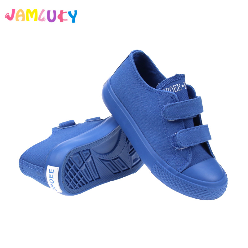 Kids Shoes Canvas For Boy Shoes Children Candy Color 2018 Autumn Rubber Anti-Slippery Sneakers Boys Shoes Girls tenis infantil fashion kids flat canvas bebe sneakers kinder children shoes girl boy enfant chaussure enfant tenis infantil sapato infantil