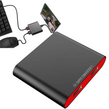 게임 pubg 컨트롤러 조이스틱 모바일 fps 게임을위한 원래 ipega PG 9096 PG 9116 미니 블루투스 키보드 및 마우스 변환기