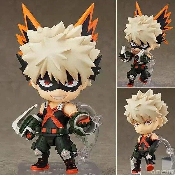 NEW Hot 10cm My Hero Academia Bakugou Katsuki Action Figure Toys Doll Collection Christmas Gift With Box