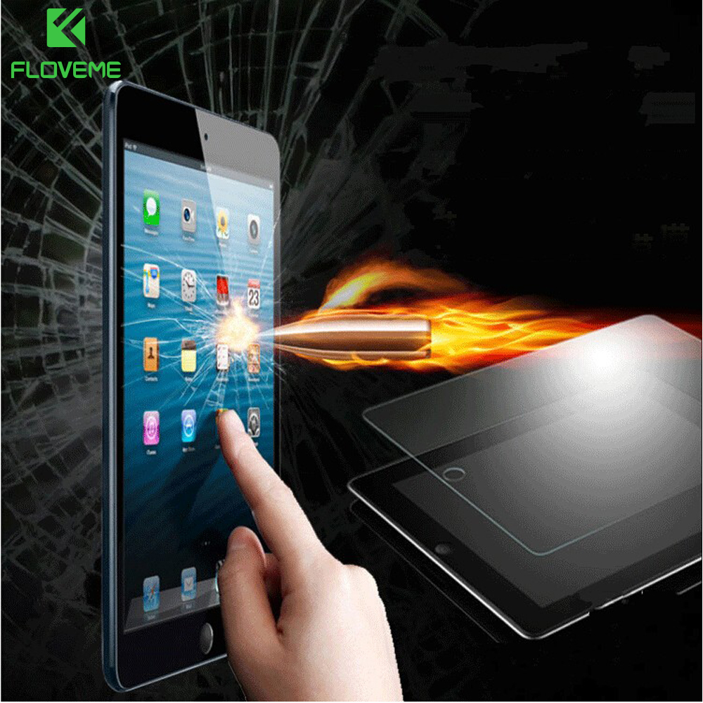 FLOVEME Ultra Thin 0.3 mm HD Premium Tempered Glass Screen Protector For Apple iPad 2 3 4 Explosion-proof Protector Guard Film
