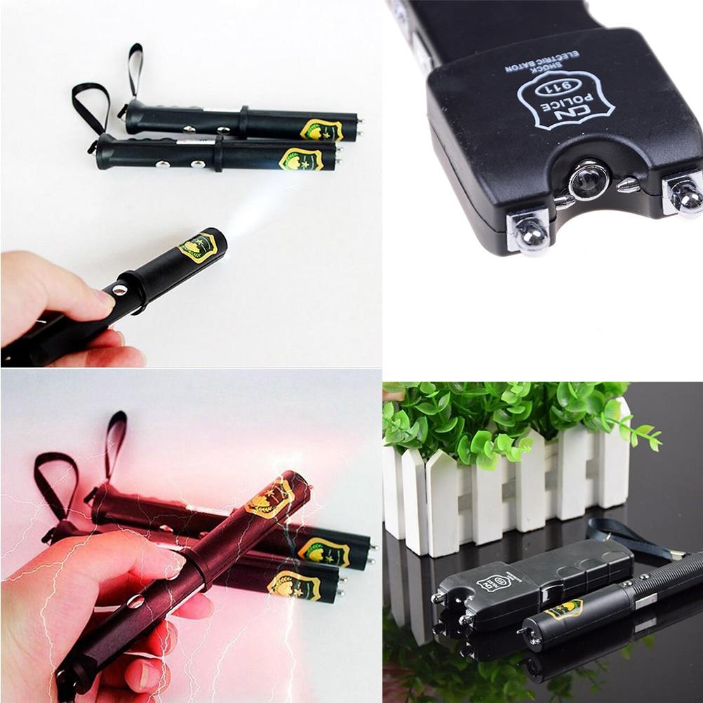 Electric Shock Batons Stick Flashlight Joke Prank Trick font b Toy b font For April Fool