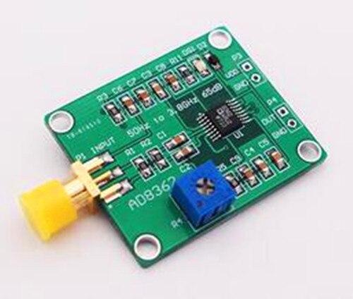 Бесплатная доставка! AD8362 50 Гц до 3,8 ГГц, 65 дБ детектор модуль