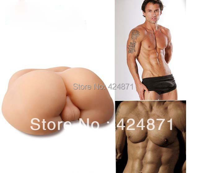 75Kg Big Ass Anus Full Silicone Real Skin Sex Toy For Gay Male Love Dolldolls Machines Adult -6756