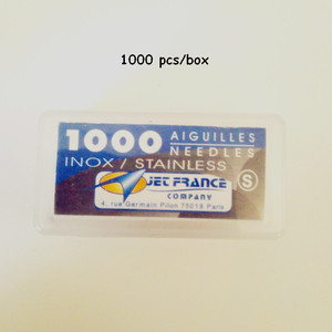Image 1 - Wholesale Packaged Aiguilles Jet France High Grade Professional Loose Tattoo Needles 0.40X31 mm 1 box/lot
