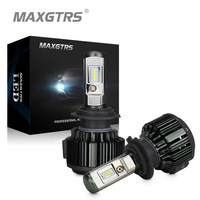 MAXGTRS H4 H7 H8 H11 9005 9006 9012 HB3 HB4 Car LED Headlight Bulbs 80W 8000LM
