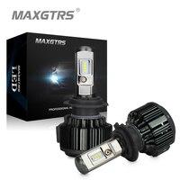 MAXGTRS H4 H7 H8 H11 9005 9006 9012 HB3 HB4 Car LED Headlight Bulbs 80W 8000LM