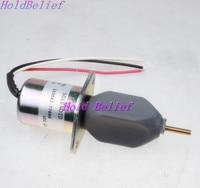 Yakıt Solenoidi 119807-77800 SA-3840-T için 4TNE94 4TNE98 Motor 12 V