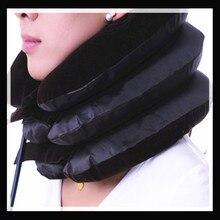 Venta caliente del cuello ortopédico hombro dolor Relax ayuda del apoyo almohada masajeador colchón de aire tracción suave