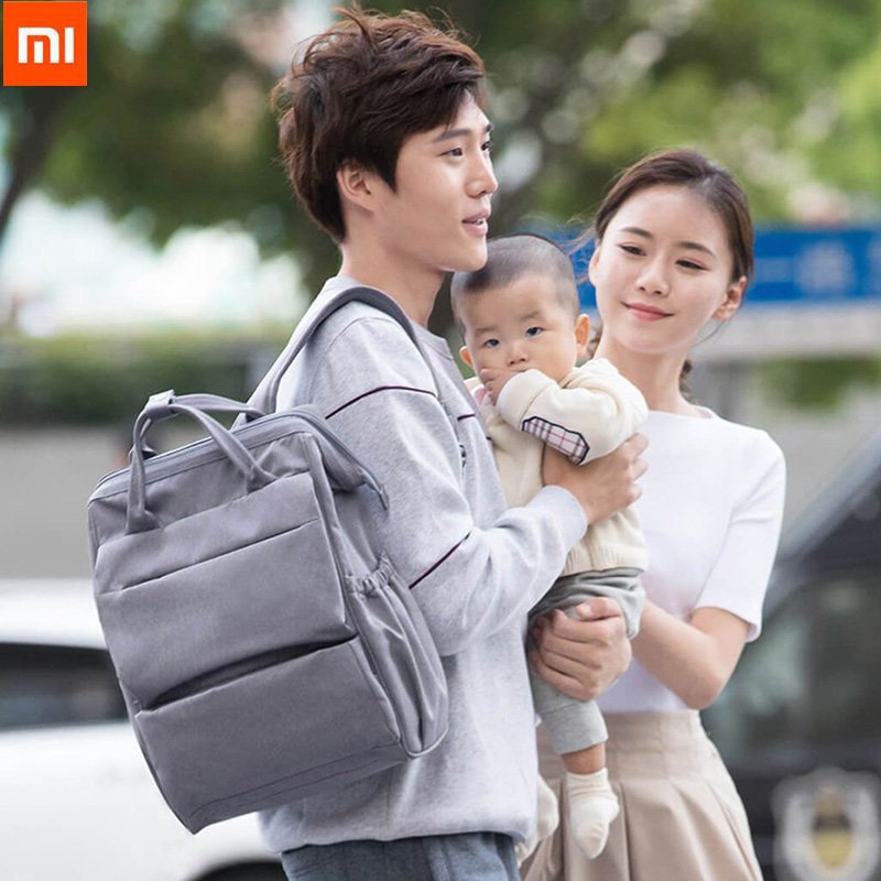 Original Xiaomi Yang Multifunction Baby Diaper Bag Feeding Bottler Backpack 20L Built in Insulation Bag For