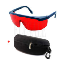 Red Lens Laser Eye Protection Safety Glasses With Portable Case For Preventing Green Laser 200nm 540nm