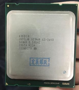 Processeur Intel Xeon E5-2640 E5 2640 Six cœurs C2 processeur d'ordinateur de bureau 100% travail normal CPU 2.5 LGA 2011 SROKR