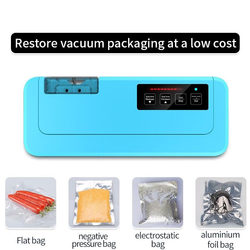 ShineYe Househlod Food Vacuum Sealer Packaging Machine Film Sealer Vacuum packer Give Free Vacuum Bags for