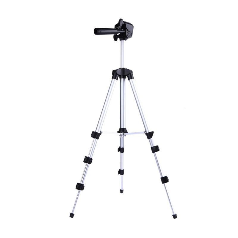 ALLOET Spiegato 1060mm Portatile Macchina Fotografica Professionale Treppiede Pan Testa di Videocamera Treppiedi Del Basamento Del Supporto Per DSLR Macchina Fotografica Del Telefono Mobile