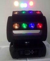 4 шт./лот новый дизайн светодиодное Освещение сцены 16X30 w Полноцветный RGBW диодный луч перемещение головы мыть свет вращения оборудование для