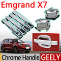 Hot Sale For Geely Emgrand X7 Accessories Chrome Door Handle 2008 2009 2010 2011 2012 2013 2014 2015 Stickers Car Styling