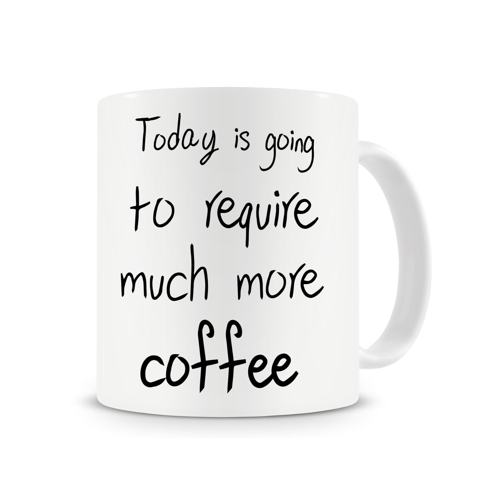 Today Is Going.. Funny Coffee Mug Morning Coffee Cup with Stirring Spoon image