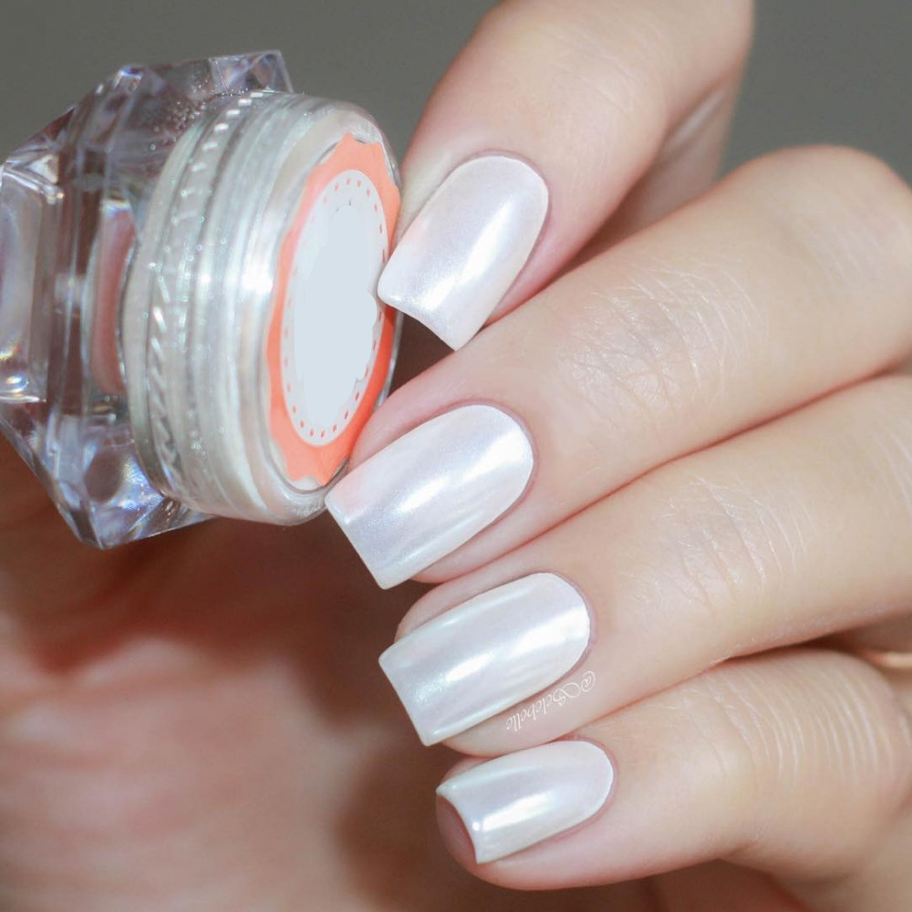 Aliexpress Ur Sugar Mermaid Pearl Nail Glitter Diamond Powder Pigment Diy Shimmer Silver Art Decoration From