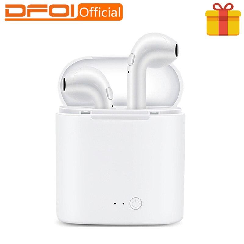 DFOI i7s Bluetooth Kopfhörer Mini TWS Stereo Kopfhörer Drahtlose Kopfhörer Bluetooth Headset Sport Kopfhörer FÜR telefon Xiaomi