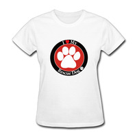 2017 Brand Dog Rescue love Womens Tee Harajuku T-shirts T-shirt for Women