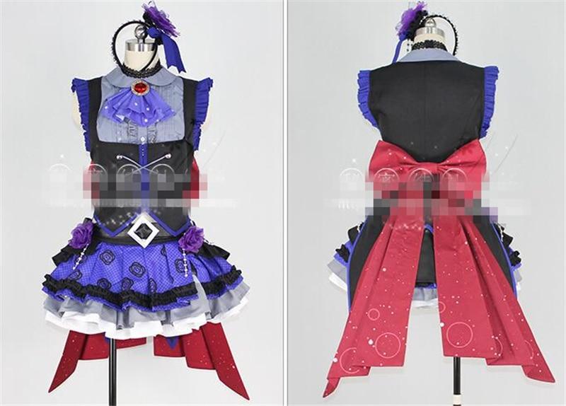 Japanese Anime THE IDOLM@STER Cinderella Girl ssr Kamiya Nao Cosplay Costume Suits Clothes Custom Made Girl Dress