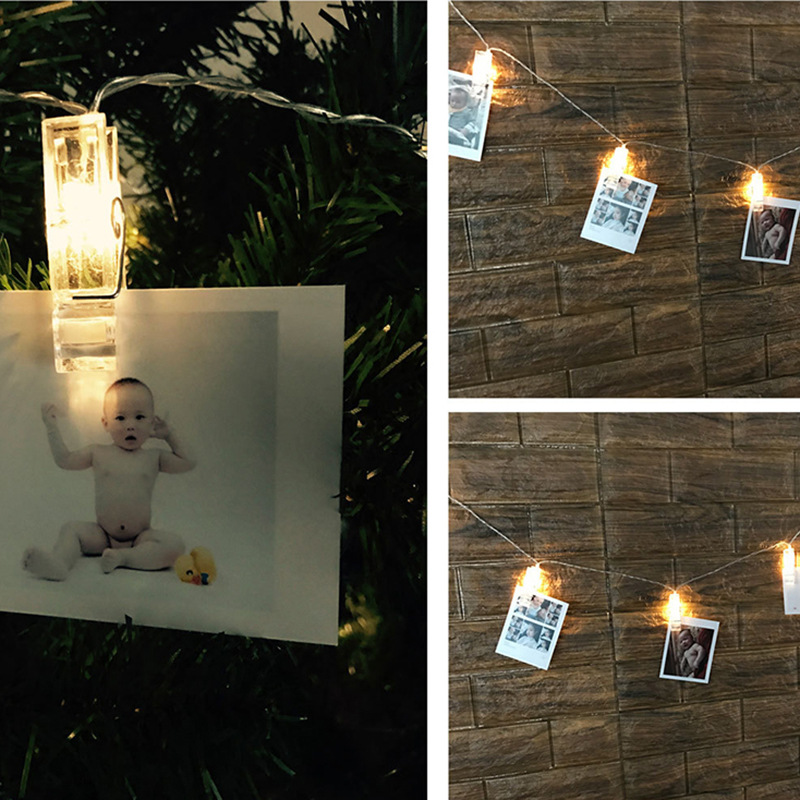 Dritat e Dekorimit të Fotove të Dritave të Kartave DIY Dritat e - Ndriçimi i pushimeve - Foto 3