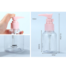 7-piece skin care products divided empty bottle set travel travel cosmetics packaging lotion bottle spray bottle lotion bottle