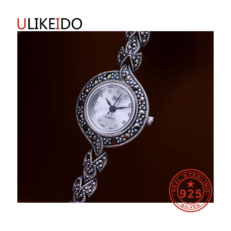 100% Pure 925 Sterling Silver Watch Men Fashion Hand Chain For Women Thai Silver Jewelry Charm Bracelet Homme 1514 925 sterling silver mens bracelets fashion domineering classic hand chain for men and women special jewelry charm bracelet 267